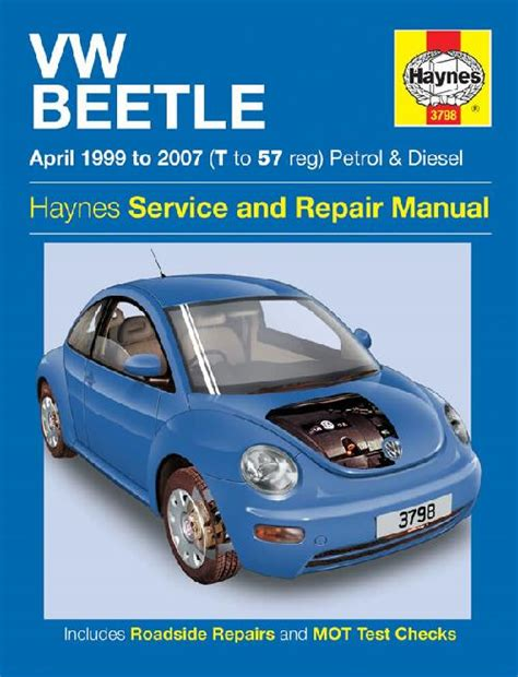 volkswagen vw beetle 1999 2007 repair workshop manual new sagin workshop car manuals repair