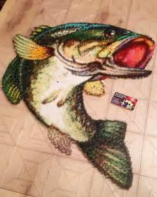 hama bead fish designs bass fish perler by ig retro4everything perler