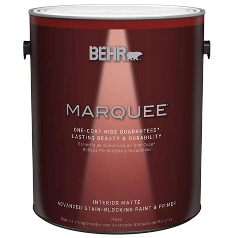 home depot behr marquee paint colors behr marquee 1 gal ultra white matte one coat hide