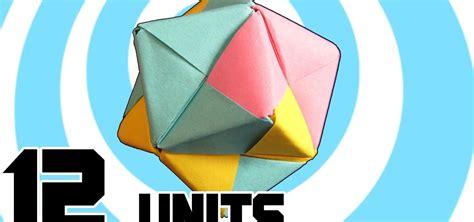 modular origami octahedron how to make modular origami octahedron 12 sonobe units