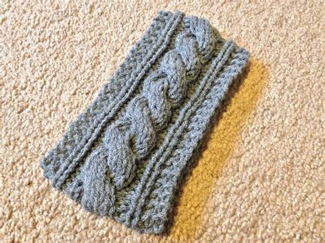 Cable Knit Headband Pattern Archives Lil Bit