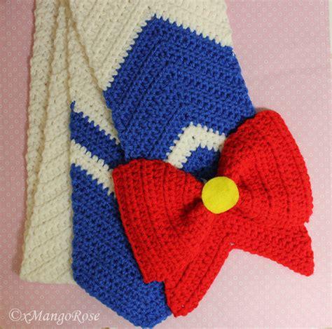 sailor moon knitting patterns sailor moon scarf pattern by xmangorose on deviantart
