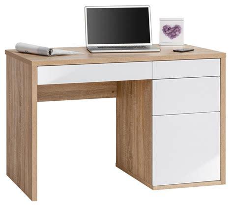 white oak desk maja club oak white computer desk