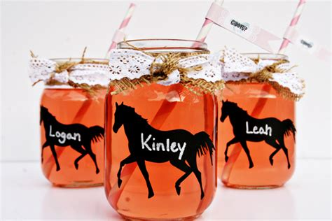 western craft projects western theme jar glasses think crafts by