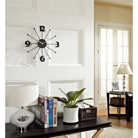 wall home decor wall clocks in home decor interior design