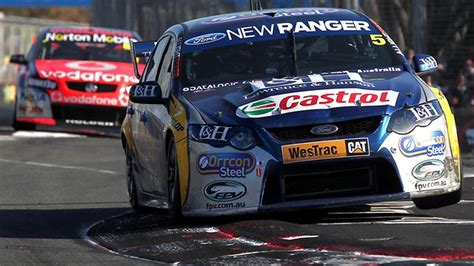 V8 Supercar drivers think the bigger kerbs on the Gold