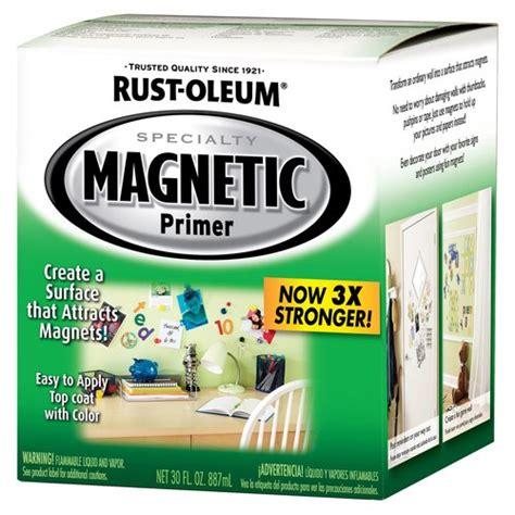 chalkboard paint magnetic rust oleum 247596 magnetic interior primer magnetic primer