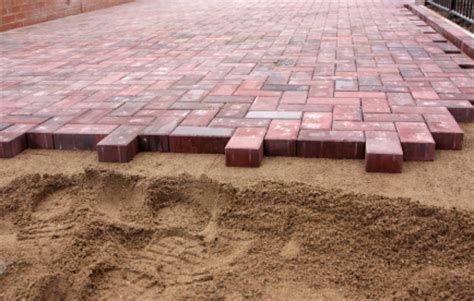 how to do paver patio how to install a laid paver patio buildipedia