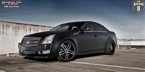 2004 Cadillac Cts Tire Size by Cadillac Cts Dub Phase 5 S105 Wheels Black Machined