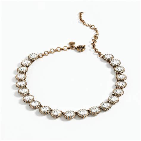 jewelry necklace chains venus flytrap necklace s necklaces j crew