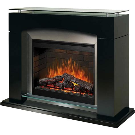 30 inch electric fireplace dimplex sop285b 30 inch laguna electric fireplace with