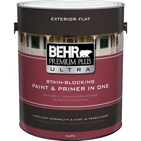 behr exterior paint primer colors behr premium plus ultra 1 gal ultra white flat