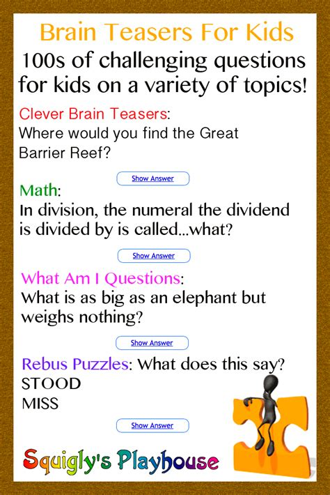 i a book of picture riddles answers math riddles for elementary students with answers money