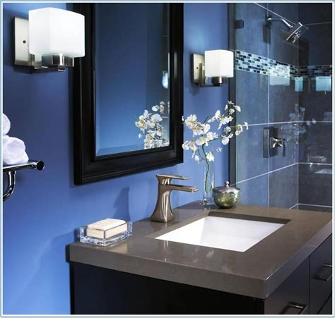 navy blue bathroom ideas navy blue bathroom design ideas
