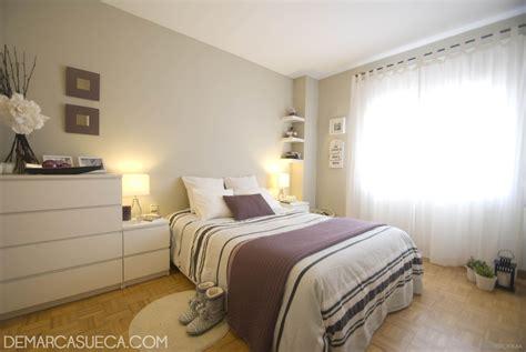 decoracion recamara beige dormitorio style contemporaneo color violeta marron