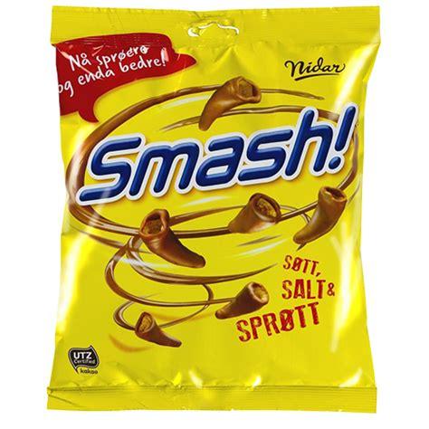 Nidar Smash ? Chocolate Covered Corn Snacks 200g   ScandiKitchen