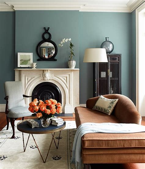 paint colors for living room with fireplace blue paint colors one