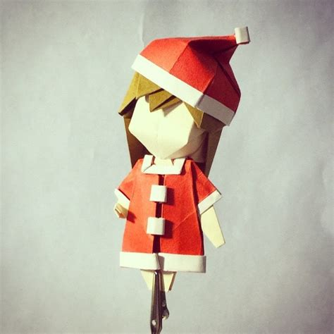 character origami 25 japanese anime characters in origami form
