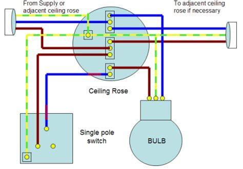 wiring lights home wiring guide single way lighting circuit