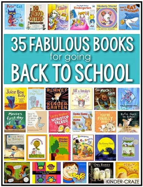 back to school picture books books for back to school