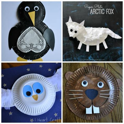 animal paper plate crafts i crafty things 20 paper plate animal crafts for