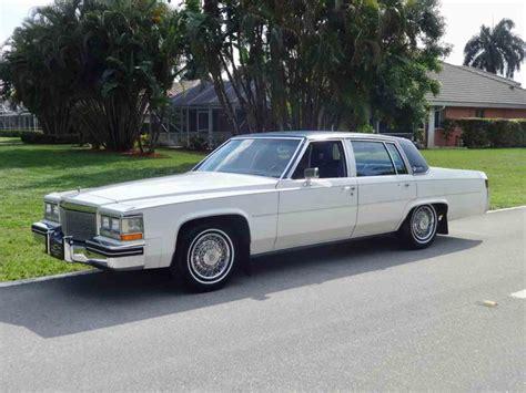 1984 Cadillac Sedan by 1984 Cadillac Sedan For Sale Classiccars