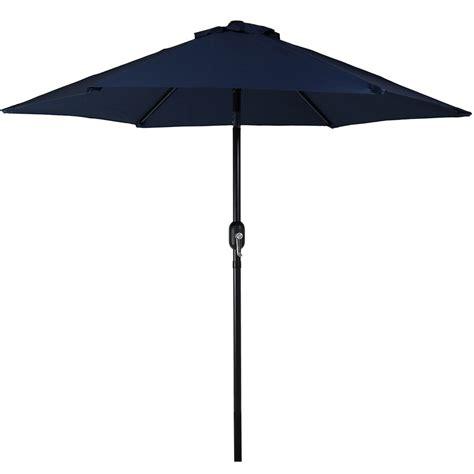 5 foot umbrella patio patio market umbrella w tilt crank 7 5 foot aluminum