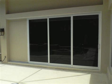 sliding glass pocket doors