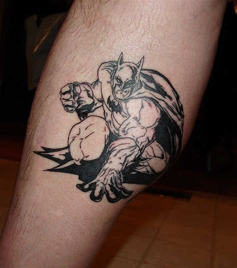 24 coolest batman tattoos designs
