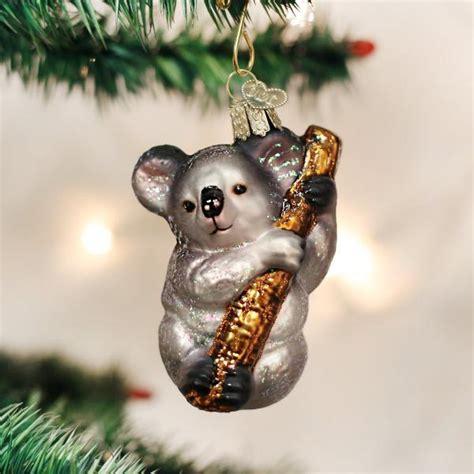 koala ornament up your tree with a koala petslady