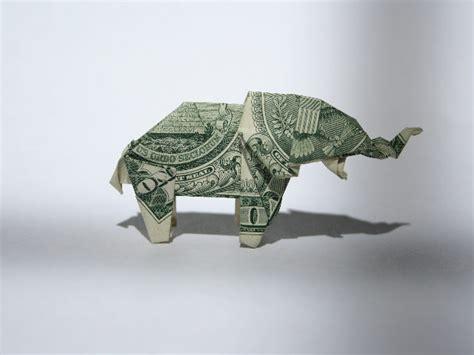 dollar origami elephant dollar origami elephant
