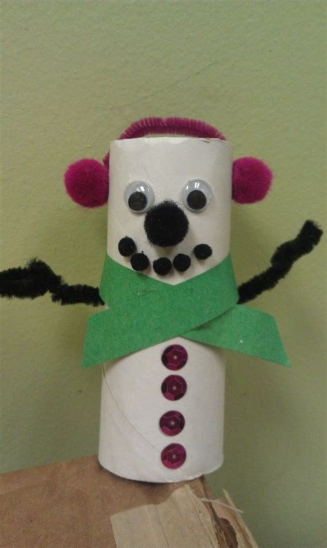 snowman toilet paper roll craft 193 best images about snowman at on