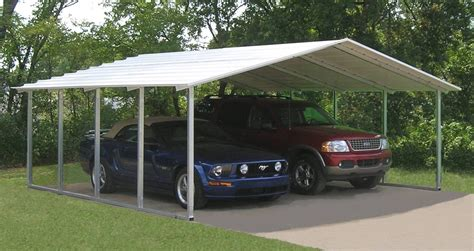 A Carport by Metal Building Installation Opportunities Offered By