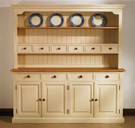 Six Drawer Dresser White by Mottisfont Painted Large Welsh Dresser Oak Furniture