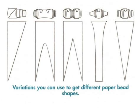 paper bead patterns paper on paper tutorial and