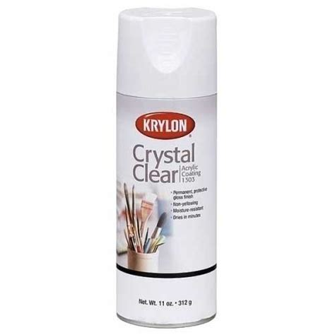 acrylic paint sealant save on discount krylon 1303 clear acrylic