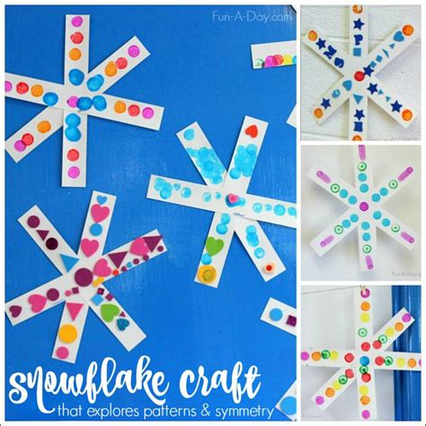 snowflake crafts for 25 unique simple snowflake ideas on