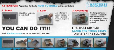 how to make a card house faq s on how to build a card house and kardtects building