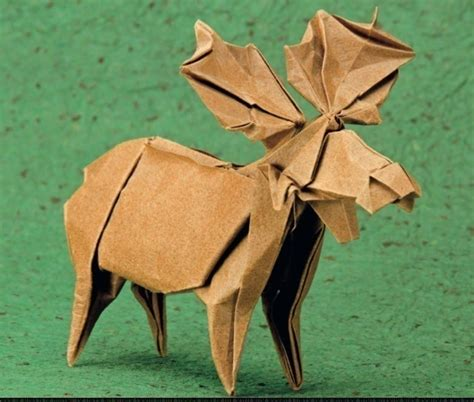 origami moose adirondack moose 183 extract from origami animal sculpture
