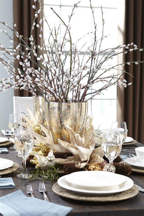 centre table decorations d 233 coration de table de no 235 l pour une atmosph 232 re magique
