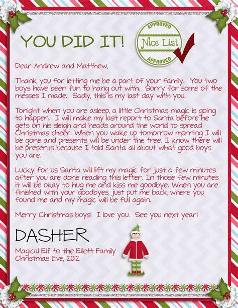 elf on the shelf goodbye letter template 15 helpful elf on the shelf goodbye letters