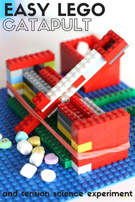to make ideas easy lego catapult physics experiment and stem activity