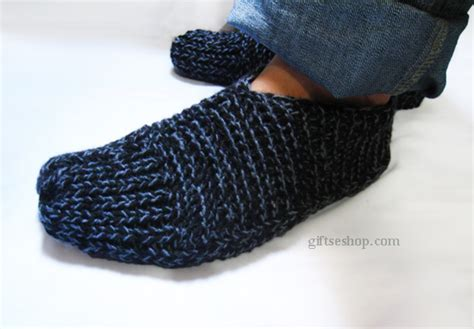 easy knitted slippers for beginners easy slippers knit pattern for knit with two needles