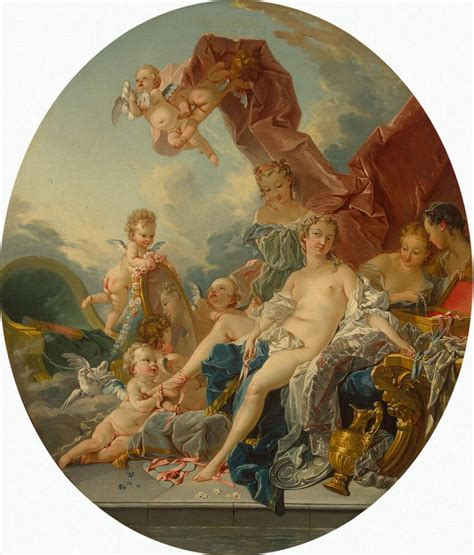 toilet of venus by fran 231 ois boucher artinthepicture