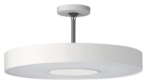 white ceiling light fixture philips 302063148 discus modern white finish 7 75 quot