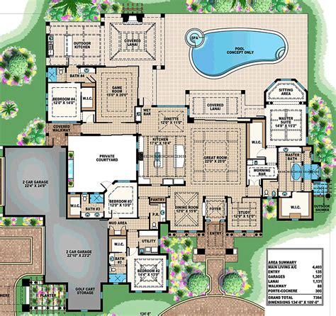luxury homes floor plans luxury estate floor plan by abg alpha builders
