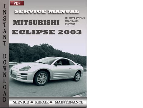 car service manuals pdf 2005 mitsubishi eclipse electronic toll collection mitsubishi eclipse 2003 factory service repair manual download do