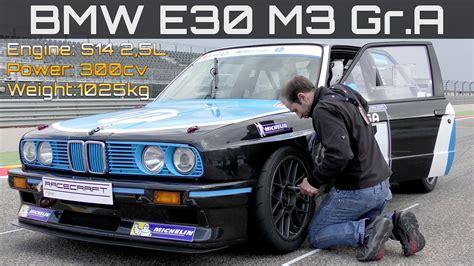 Bmw S14 by Bmw M3 E30 Gr A Race Car With S14 Engine Awesome Sound