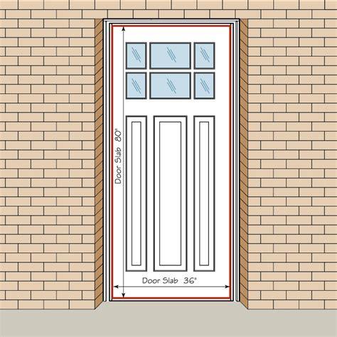 exterior door width exterior door measurements door size supreme standard