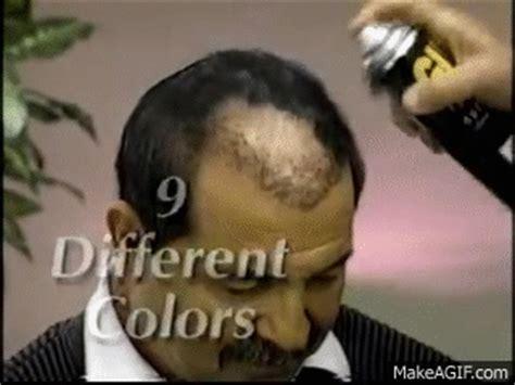 spray painter infomercial 1990 s infomercial hell 19 spray paint the bald away
